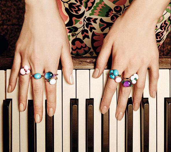 宝曼兰朵Capri系列珠宝 带你走进童话花园世界