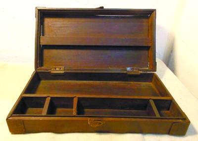 精致简约 爷爷给我的清代红木文具盒