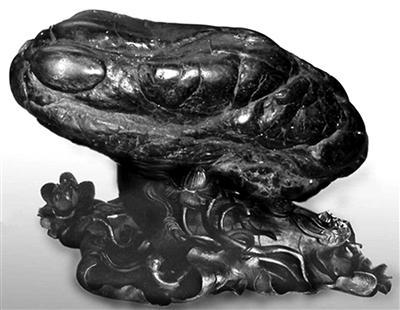 青蛙奇石 妙趣天成