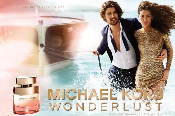 迈克科尔斯释出最新Wonderlust香水广告大片