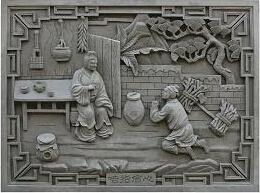 砖雕_砖雕艺术特色_砖雕的分类_砖雕图案寓意