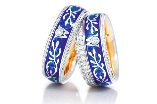 华洛芙珠宝品牌推出全新经典旋转指环