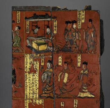漆画收藏与鉴赏:山西博物院藏木板漆画
