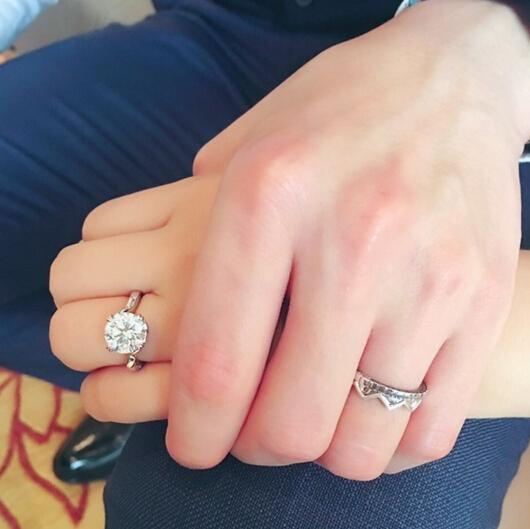 全世界仅一枚 福原爱和江宏杰的钻石婚戒还真有不少故事