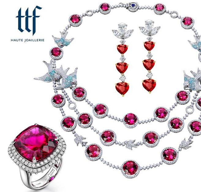 国庆期间最佳搭配 选一件喜气洋洋的红色珠宝最好了