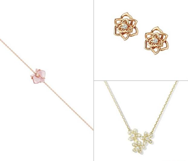 入秋时分温度风度都不可少 各大珠宝品牌用一朵花俘获你的心