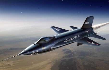 飞的越高气压越低 那些能冲破大气层的飞行器图片