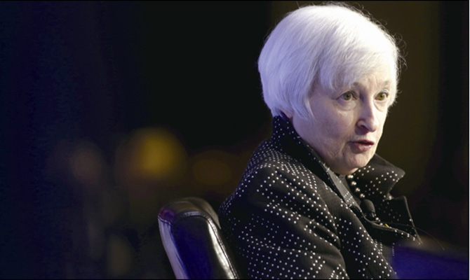 耶伦领衔重磅轰炸全球 国际银价面临严峻跌势