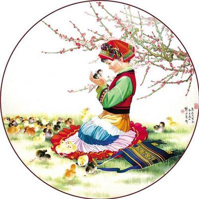 广绣_广绣艺术特色_广绣分类_广绣代表人物_广绣传承意义