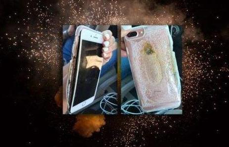 苹果手机自燃 男子大腿被严重烧伤
