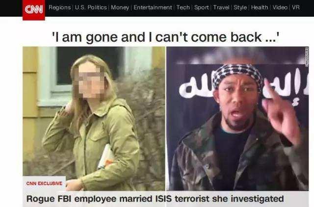 FBI女翻译为调查恐怖分子竟以身相许 真相大白后获刑两年