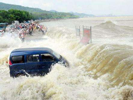 钱塘江流域洪水暴发