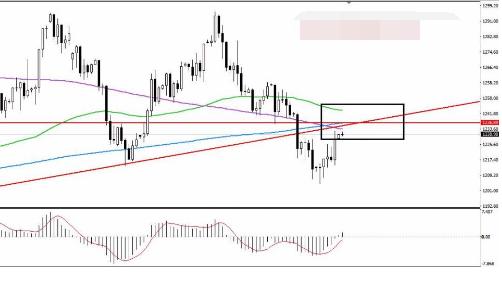 黄金市场变化多 本周建议关注上方阻力位