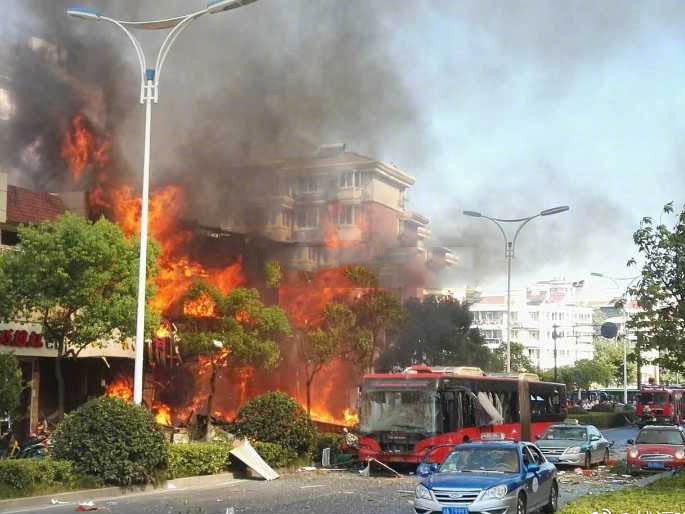 杭州餐馆煤气爆炸