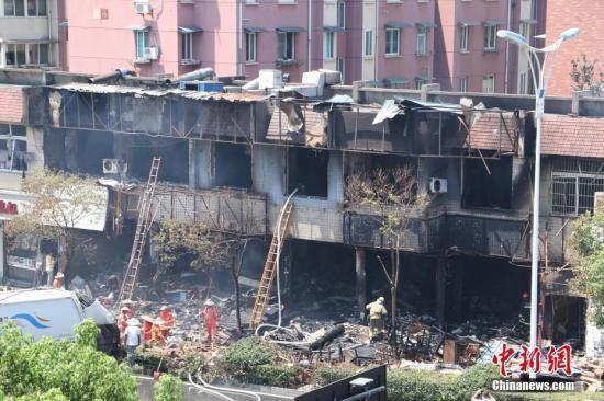 杭州餐馆爆炸事故尚有40人留院治疗 5重伤者好转