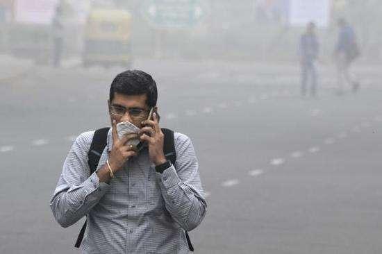 访问印度遇重霾直接傻眼:印度工业很发达?