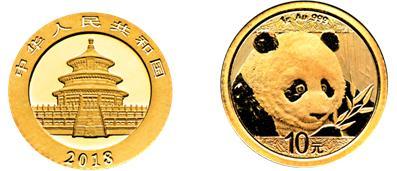 2018年熊猫金币设计图案的详细解读