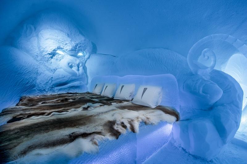 图揭瑞典冰旅馆