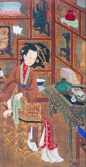 故宫藏《雍正十二妃》欣赏
