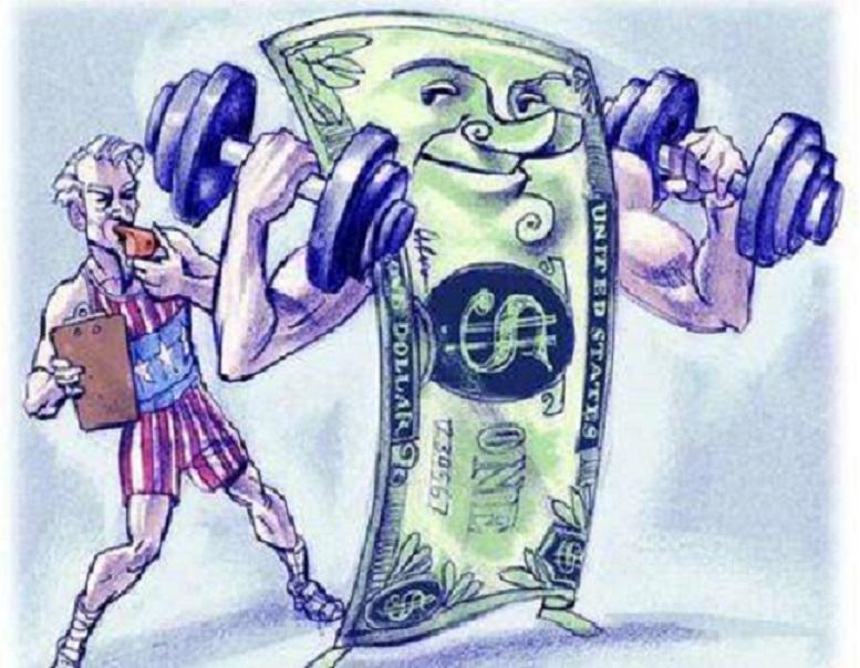 金价从一年低点反弹 美元重拾升势