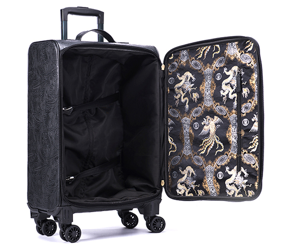行李箱固定带怎么用图片