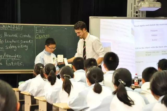 v外教外教杭州中小学里的正文找来的?学英语小学生教图片