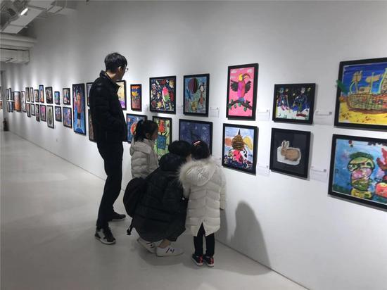 奇象艺术国际少儿艺术展开幕