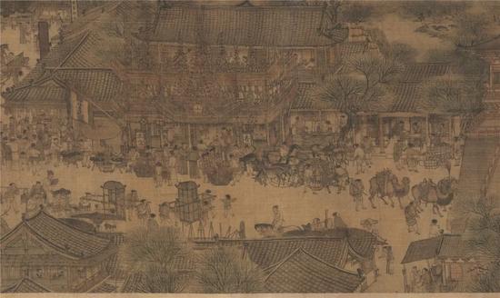 那些画中描绘的宋元明清时期的瓷制酒