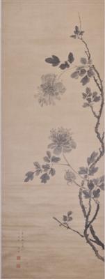 李因《牡丹图》中展现的历尽风霜、甘于平淡超俗的品格
