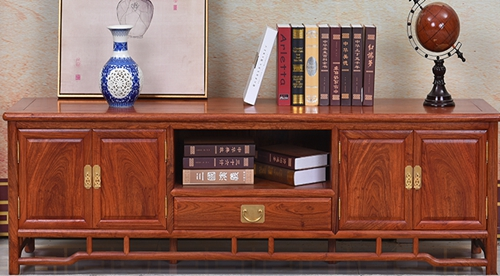 """""""仿古中式高影视柜""""红木家具的价格"""