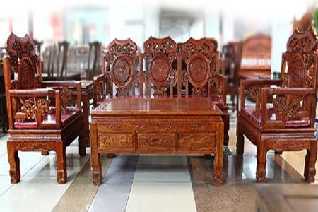"""""""卓匠红木传统风沙发""""一套红木沙发价格"""