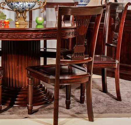 """""""欧式新古典红木餐椅""""红木家具及价格"""