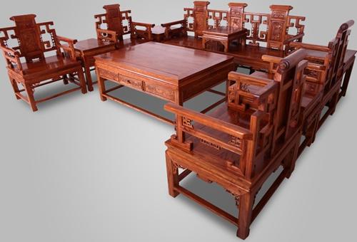 """""""伽保利新中式红木沙发""""一套红木沙发价格"""