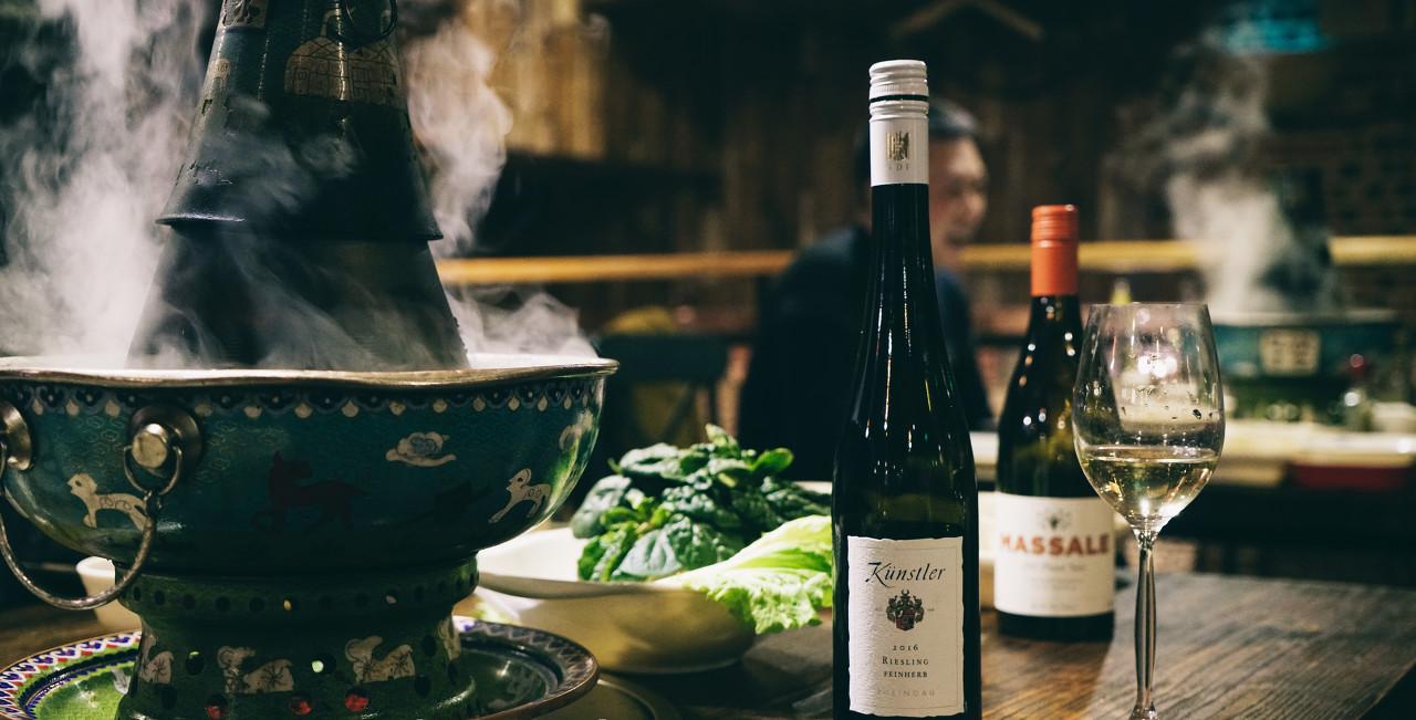 """low了吧?葡萄酒和火锅也可以是完美""""CP"""""""