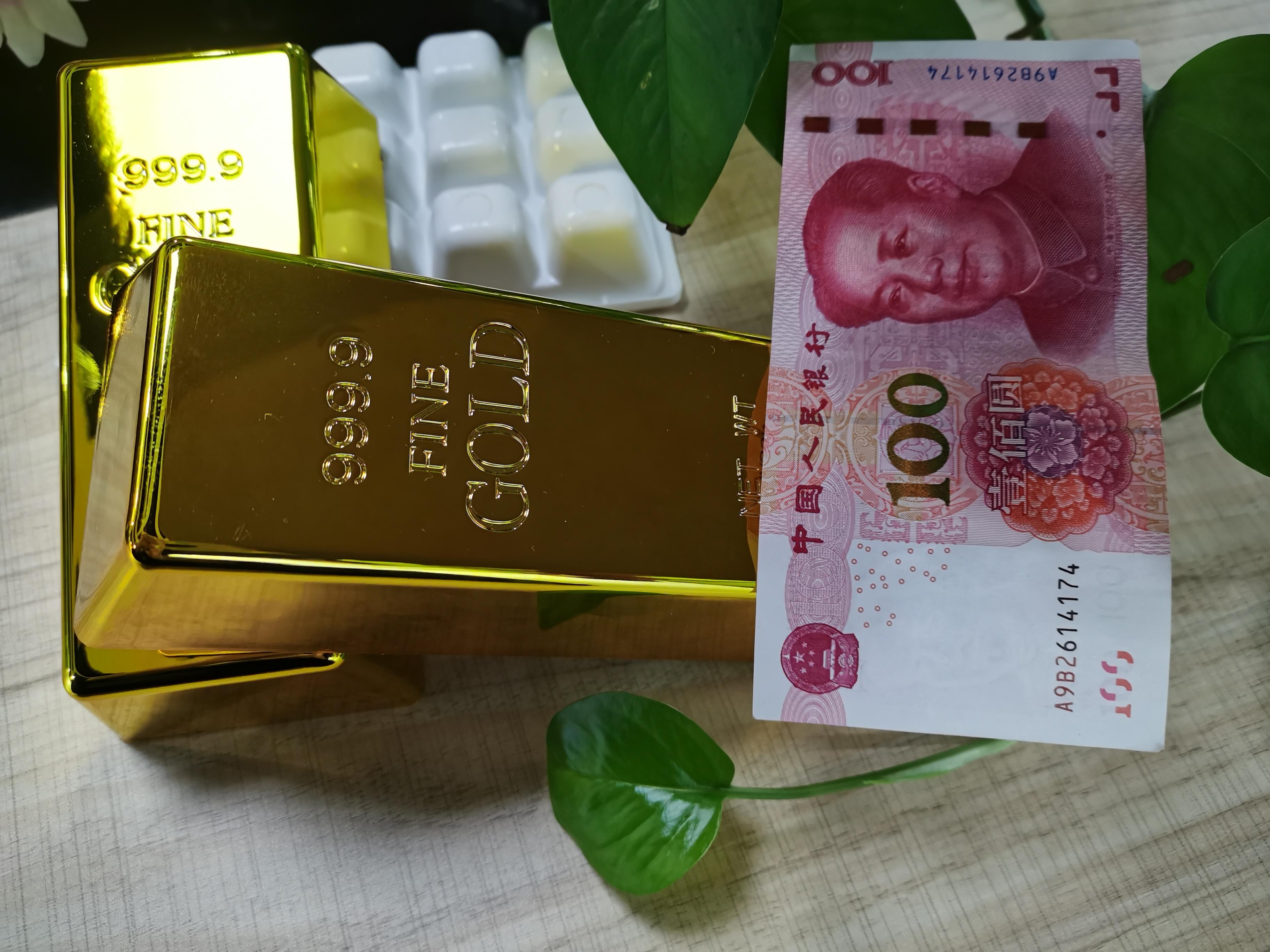 黃金價格大跳水 一日流失130美元