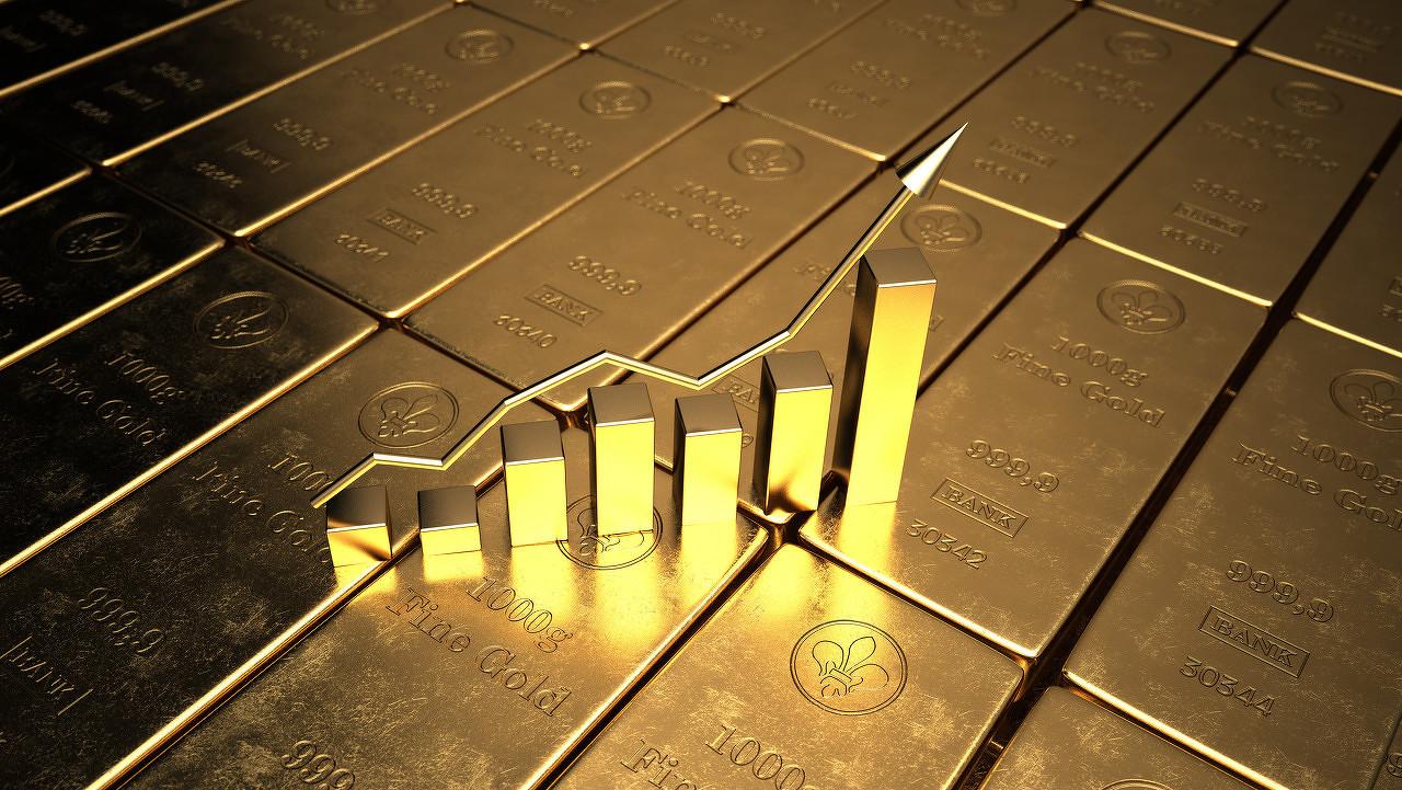 全球经济增长预期下调 黄金市场短线直涨