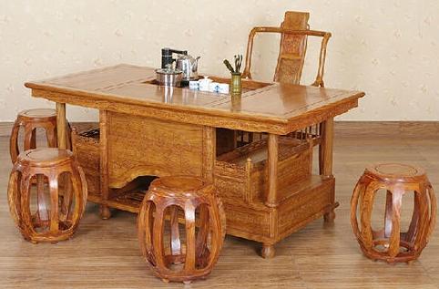 """""""兰之阁红木桌""""红木家具的价格"""