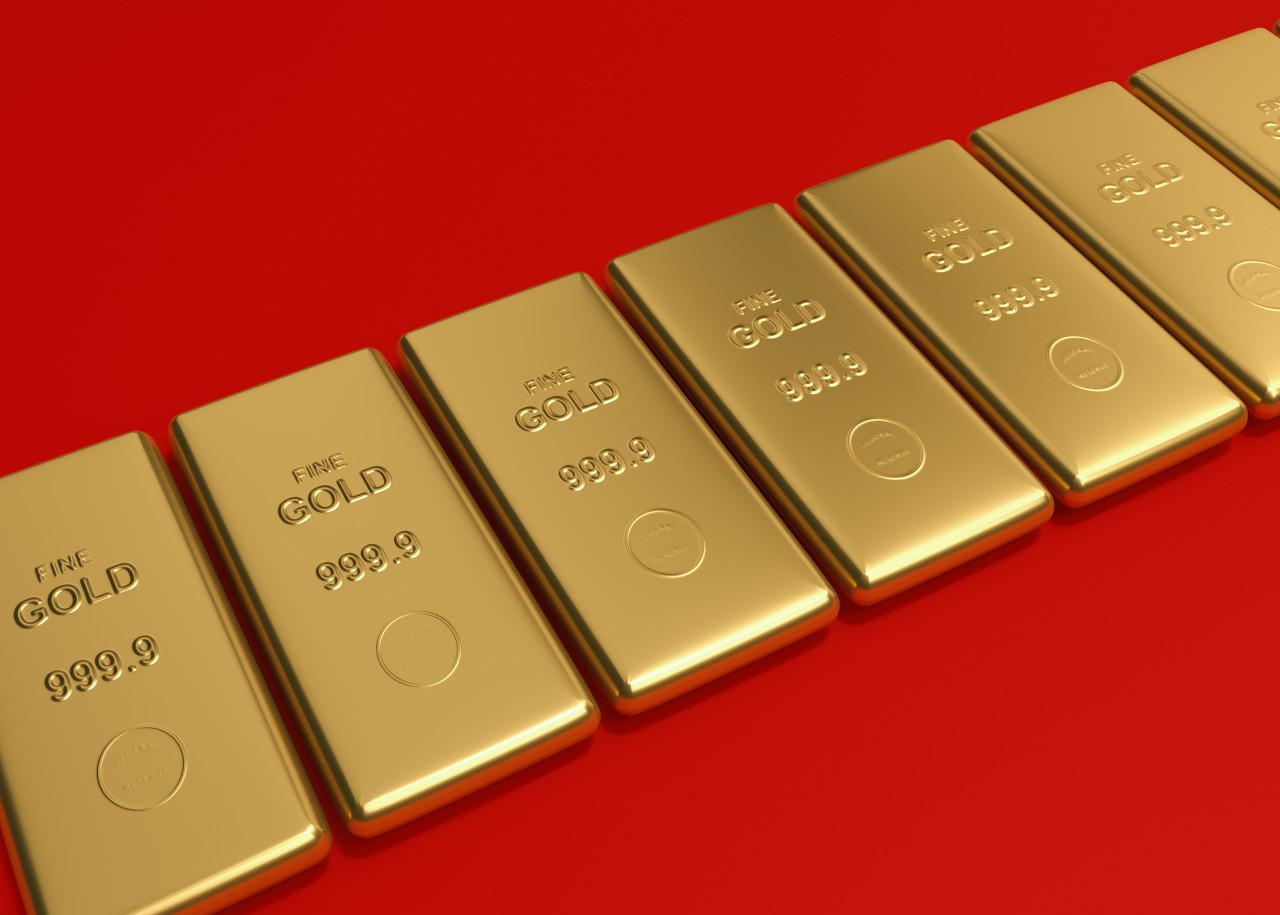 市场通胀预期上升 现货黄金涨势连连