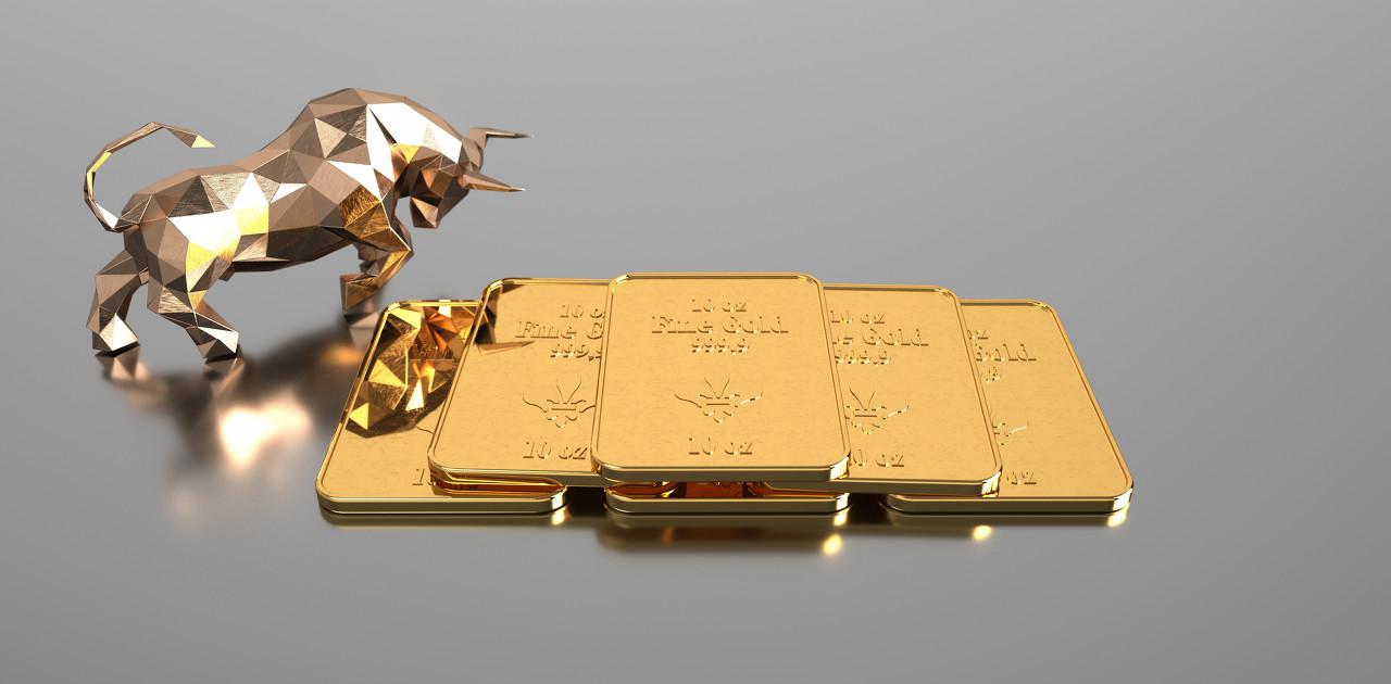 美债收益率下滑 黄金市场反弹回升