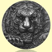 十二生肖兽首银