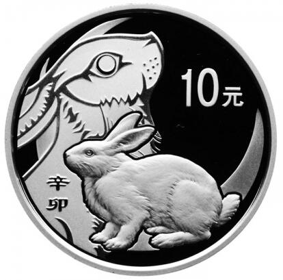 1盎司本银兔
