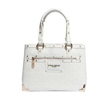 范思哲Versace白色拎包
