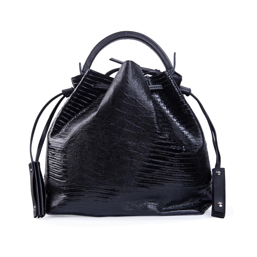 ZARA飒拉黑色手提包