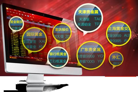 黄金白银行情分析系统2013版全面升级