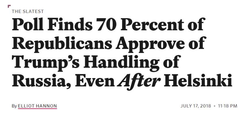 特朗普最新民意支持 结果有一部分令人吃惊