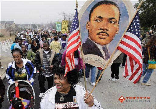 2011年1月17日 马丁·路德·金纪念日