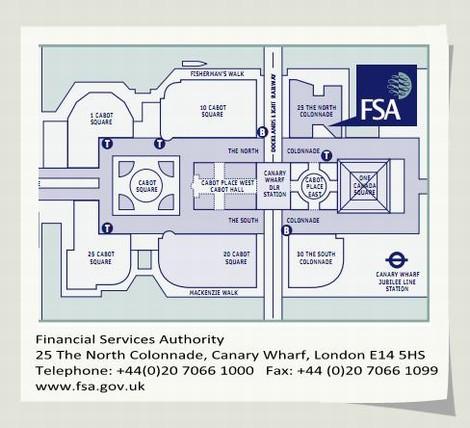 英国金融服务管理局(FSA UK)
