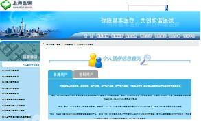 上海市医疗保险查询