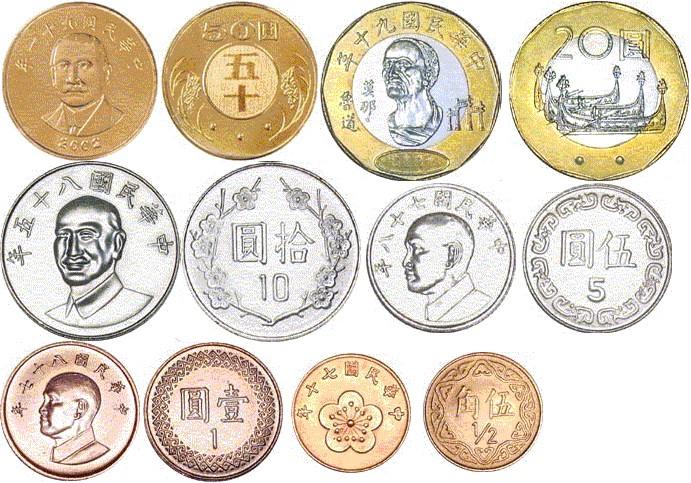 新台币硬币介绍
