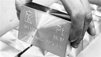南非金矿暴动提振 铂金价格连升三天